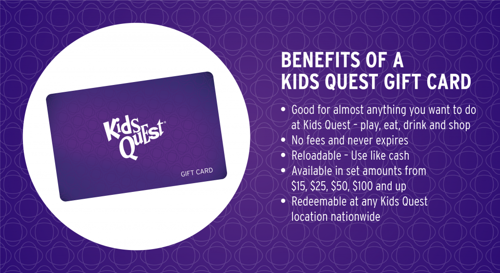Gift Cards Kids Quest