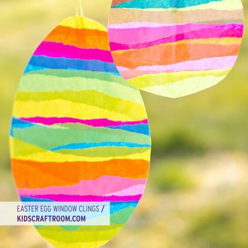 Easter Egg Window Cling