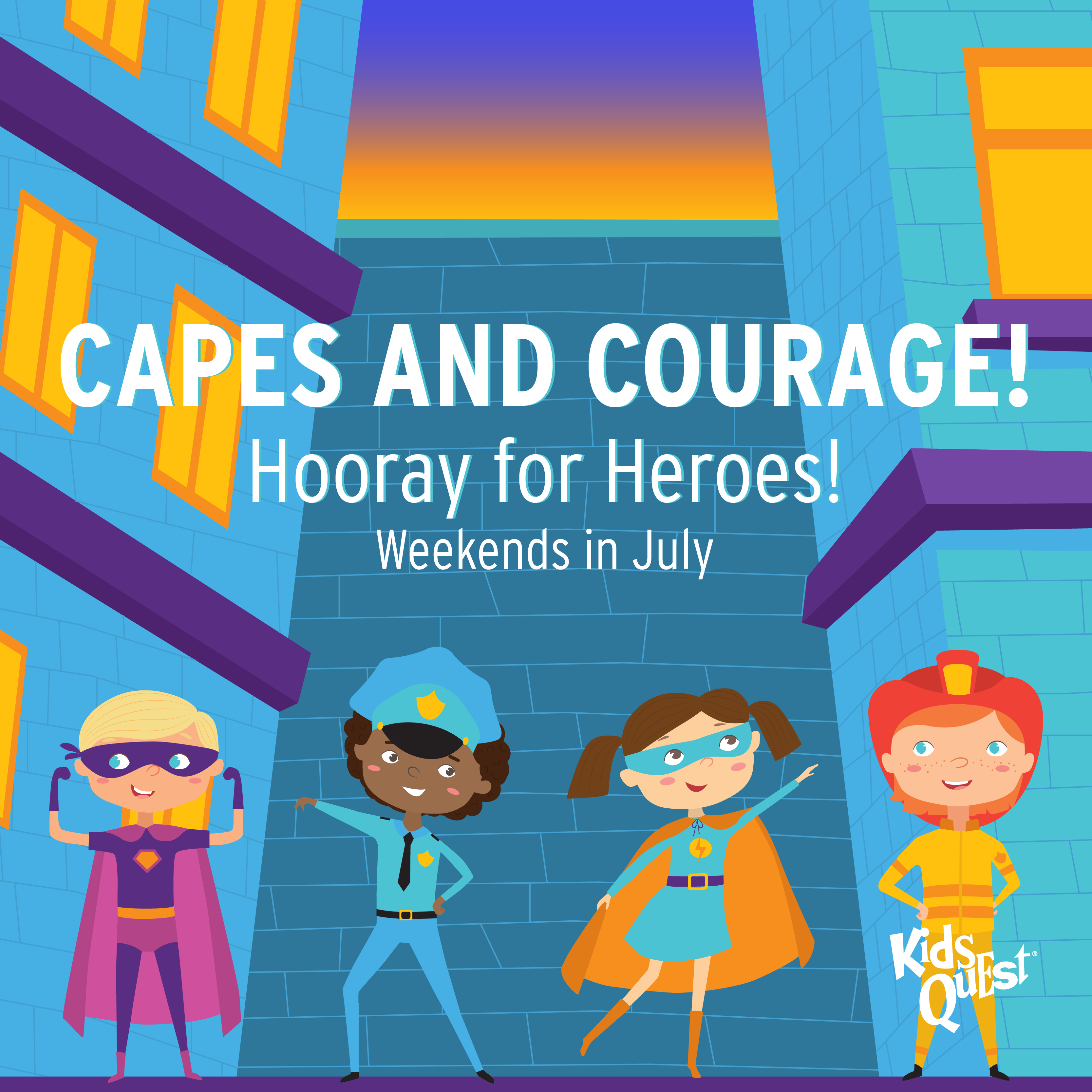 Capes and Courage at Kids Quest