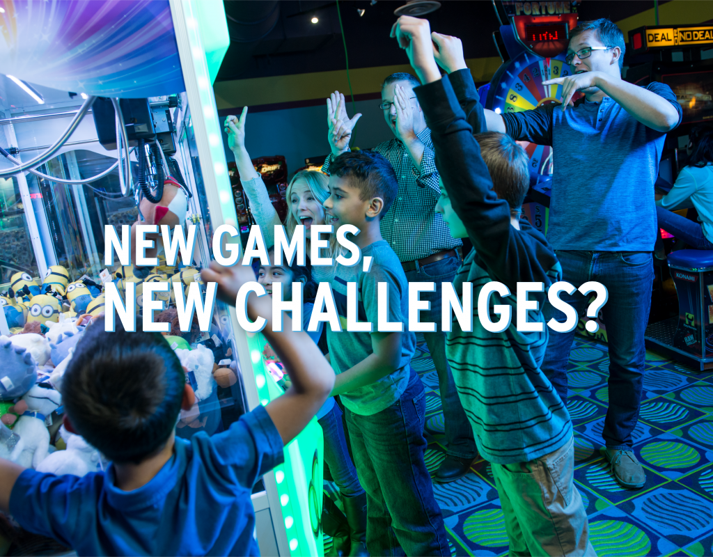 New Games, New Challenges