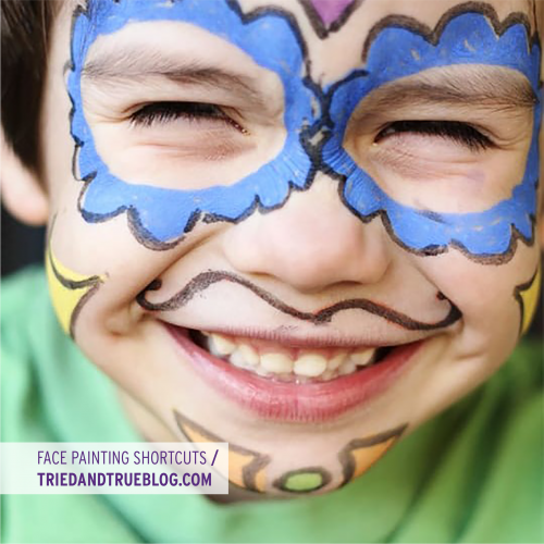 Face Painting Shortcuts