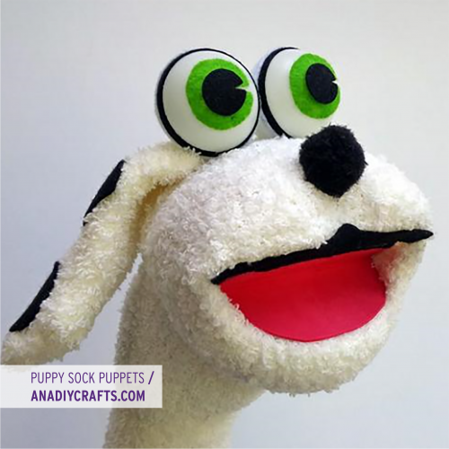 Puppy Sock Puppet