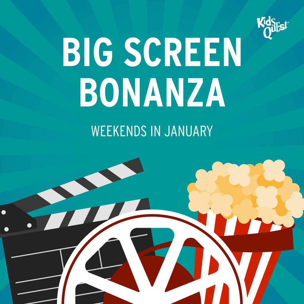 Big Screen Bonanza at Kids Quest